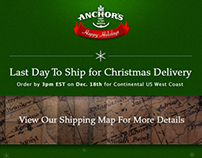 Anchor's Food Finds Email Marketing Final Xmas 2012