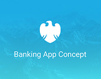 Barclays Mobile Banking App Concept