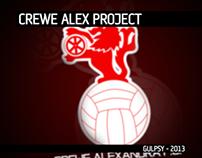 Crewe Alexandra - Re-branding Project