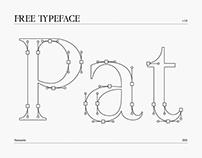 Patrízia - Free Serif Font