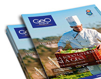 Diseño editorial y pictogramas para Geo Bazar