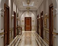 Ministry Building - Corridor