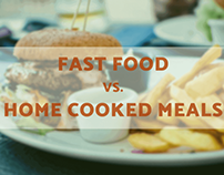 Fast Food Vs Home Cooked Meals