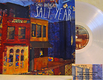 Chris Bathgate 'Salt Year' LP Design + Layout