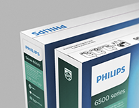 Philips TV packaging - rebranding