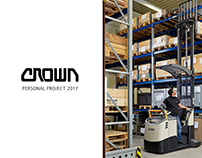 CROWN Lift Trucks Internship 2017