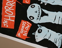 The Horrors / Crocodiles / Hounds Below Poster