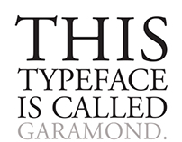 Ten Typefaces