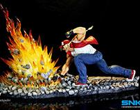 Terry Bogard - Statue - Kinetiquettes