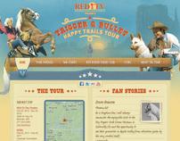 Trigger & Bullet Happy Trails Tour Website