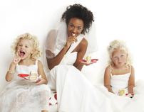 "Kids Bridal Fashionshoot ""In de hoofdrol"""