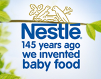Nestle Baby food prints