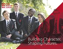 King Richard School Prospectus design