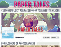 Facebook cover — Paper Tales