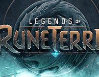 Legends of Runeterra Logo Ideation
