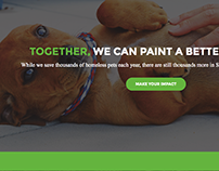 Humane Society of Silicon Valley // Web Design