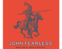 John Fearless Logomark Illustrated by Steven Noble