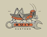 Buit Customs - Graphic set