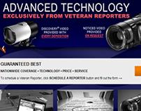 Web Design, Digital and Print Graphics, Video