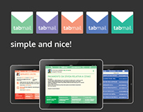 Tabmail, the simple and nice email app.