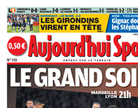 Aujourd'hui Sport (Front Page)