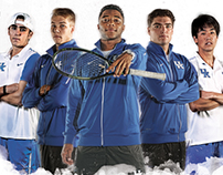 2016 Kentucky Men's Tennis Poster