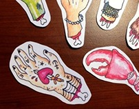 Handmade Stickers!