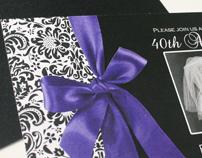 Anniversary Invitation Design + Program