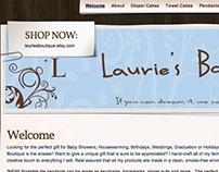 Laurie's Boutique Website