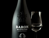BARON HILDBRAND Logo & design bottle