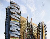 DIAMOND TOWER , Qatar Scope: Exterior Design & 3d Vis