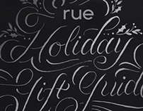 Rue Magazine 2012 Holiday Gift Guide