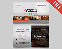 Internet Cafe – Free Business Card Templates PSD