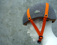 Cork Bicycle Helmet Concept For Lacoste