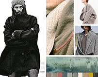 Trend Mood Boards. AW 16/17. Men Outerwear