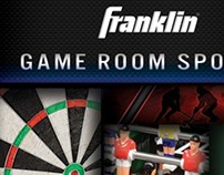 Franklin 2013 Game Room Sports catalog