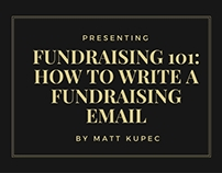 How to Write a Fundraising Email
