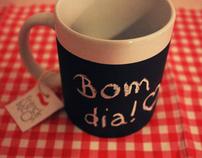 Canecas Quadro-Negro / Blackboard cups.