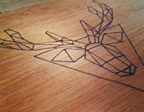 Deer - Wood Pyrography