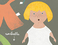 Goldilocks Paper Doll