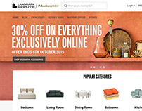 Home Centre launch at LandmarkShops.com
