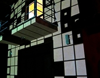 Architecture Mapping and VJ Set- Chalé/ RJ