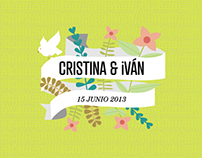Cris & Iván Wedding Design