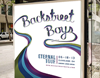 Backstreet Boys Eternal Tour Branding