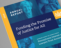 Pennsylvania IOLTA Board 2016 Annual Report