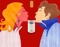 Campari Poster Design