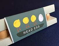 Head Egg - Egg Packaging