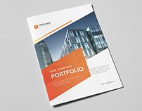 Corporate Portfolio Brochure 18 pages A4