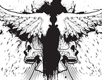 Winged Soul T-shirt Vector Design