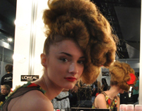 Fashion Week Backstage Photos